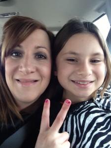 Rachel Wicks and daughter, Leah